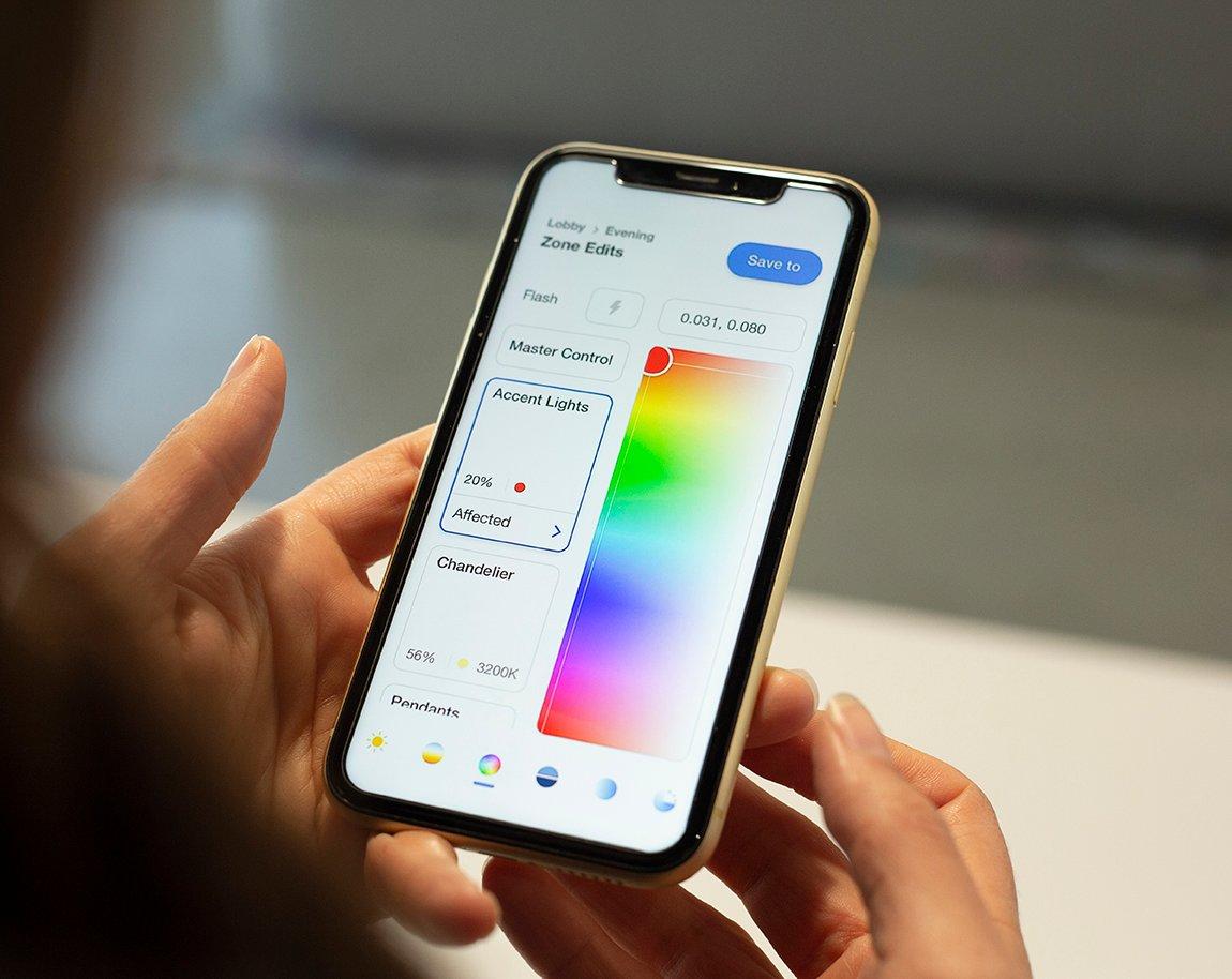 Lutron Ketra's new mobile app