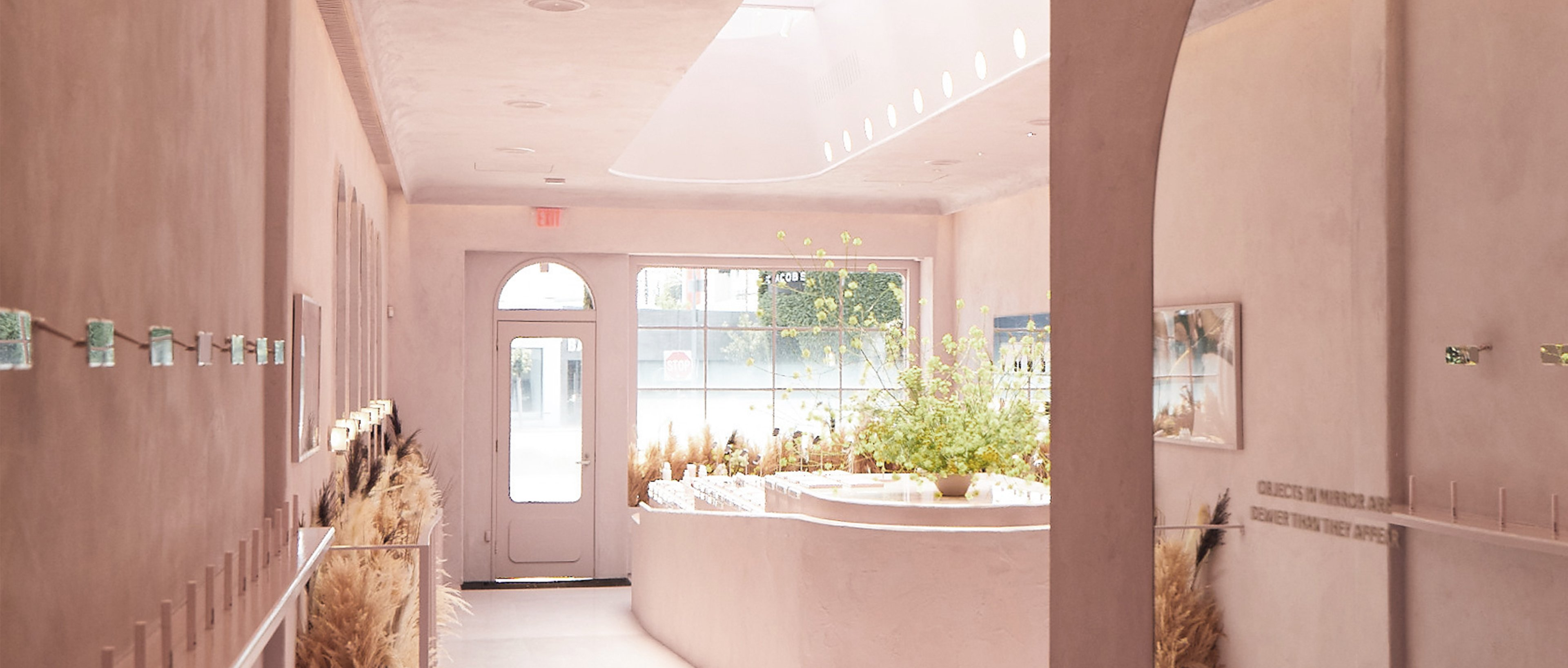 Glossier Los Angeles pop up