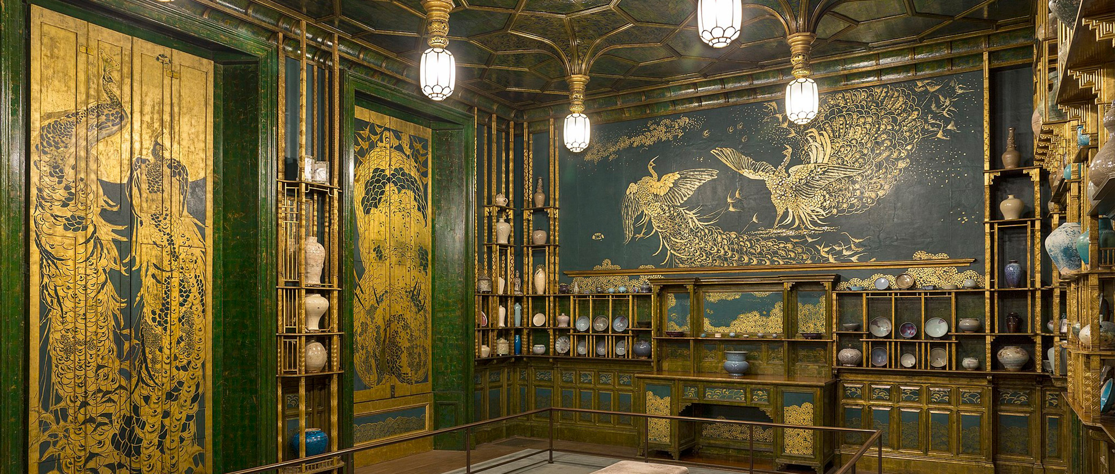 Barry Richards' inspiration - The Peacock Room by James Whistler