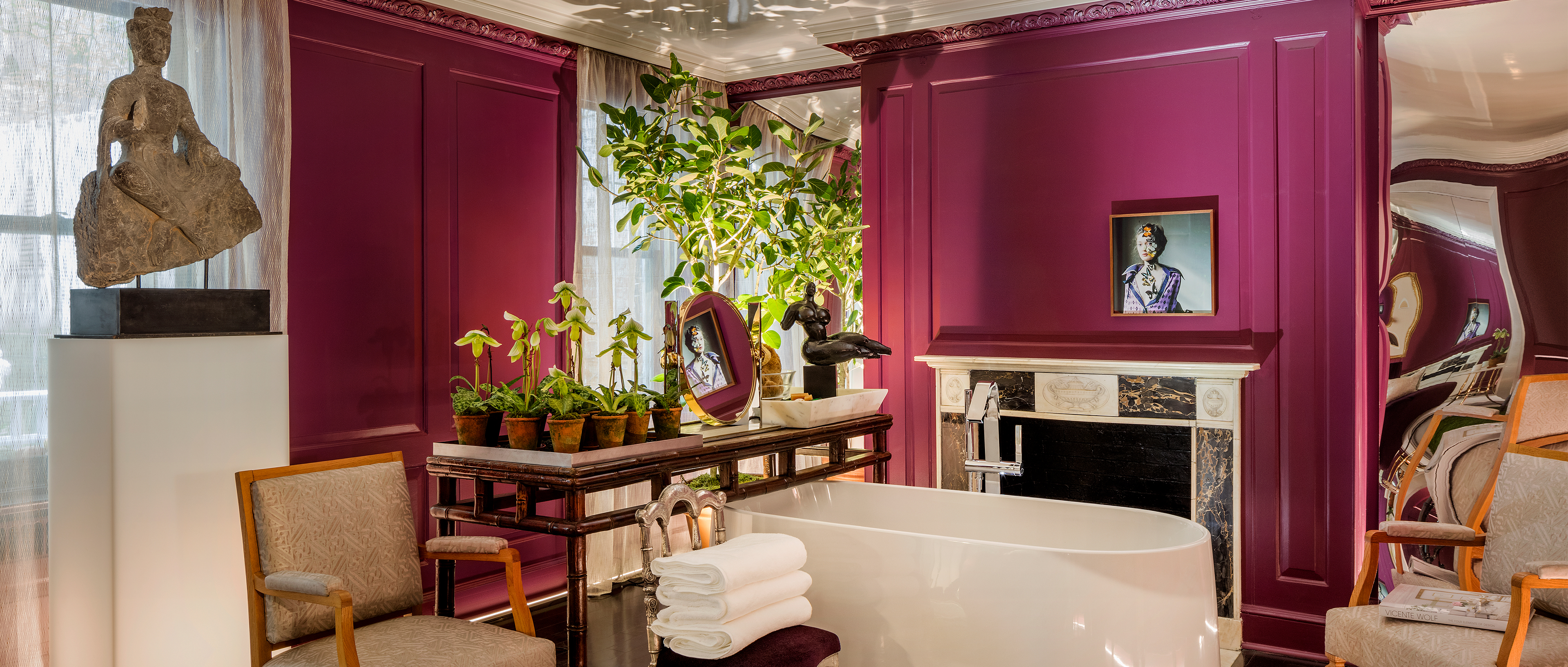 Vicente Wolf's unique design in Kips Bay Decorator Show House
