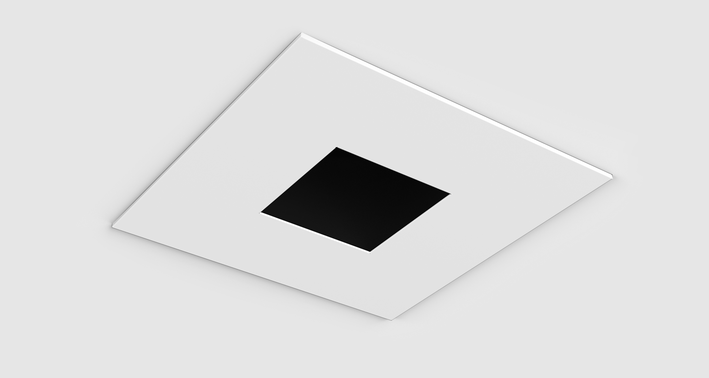D3 Square Fixed, Flanged Deep Pinhole