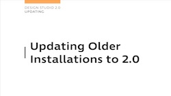Design Studio 2.0 - Updating to 2.0