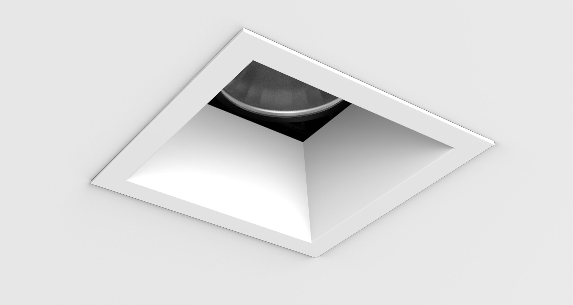 D3 Square Deep Bevel Downlight