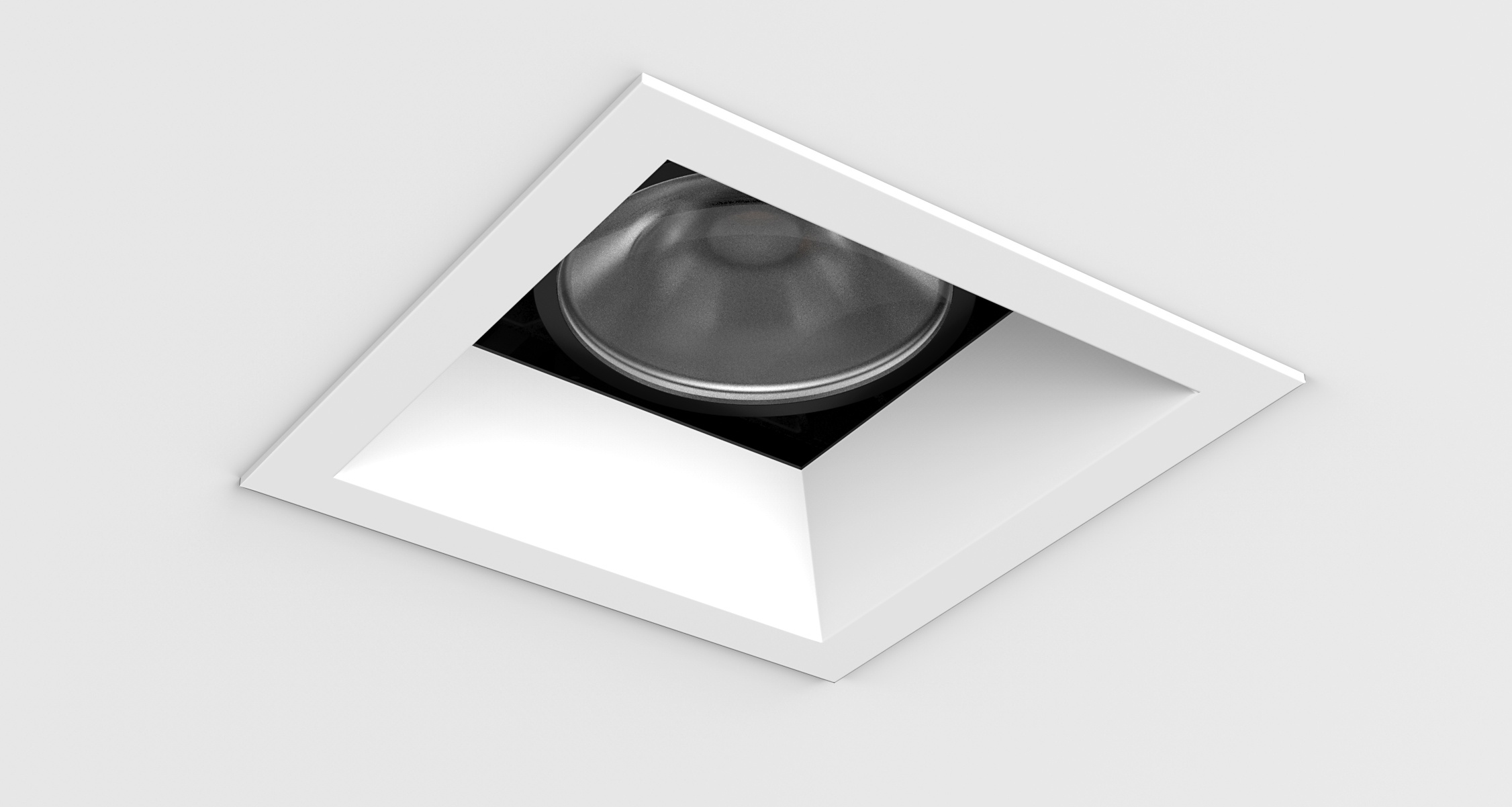 D3 Square Shallow Bevel Downlight