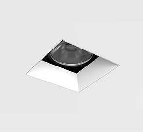 D3 Square Shallow Bevel Downlight Mud-In