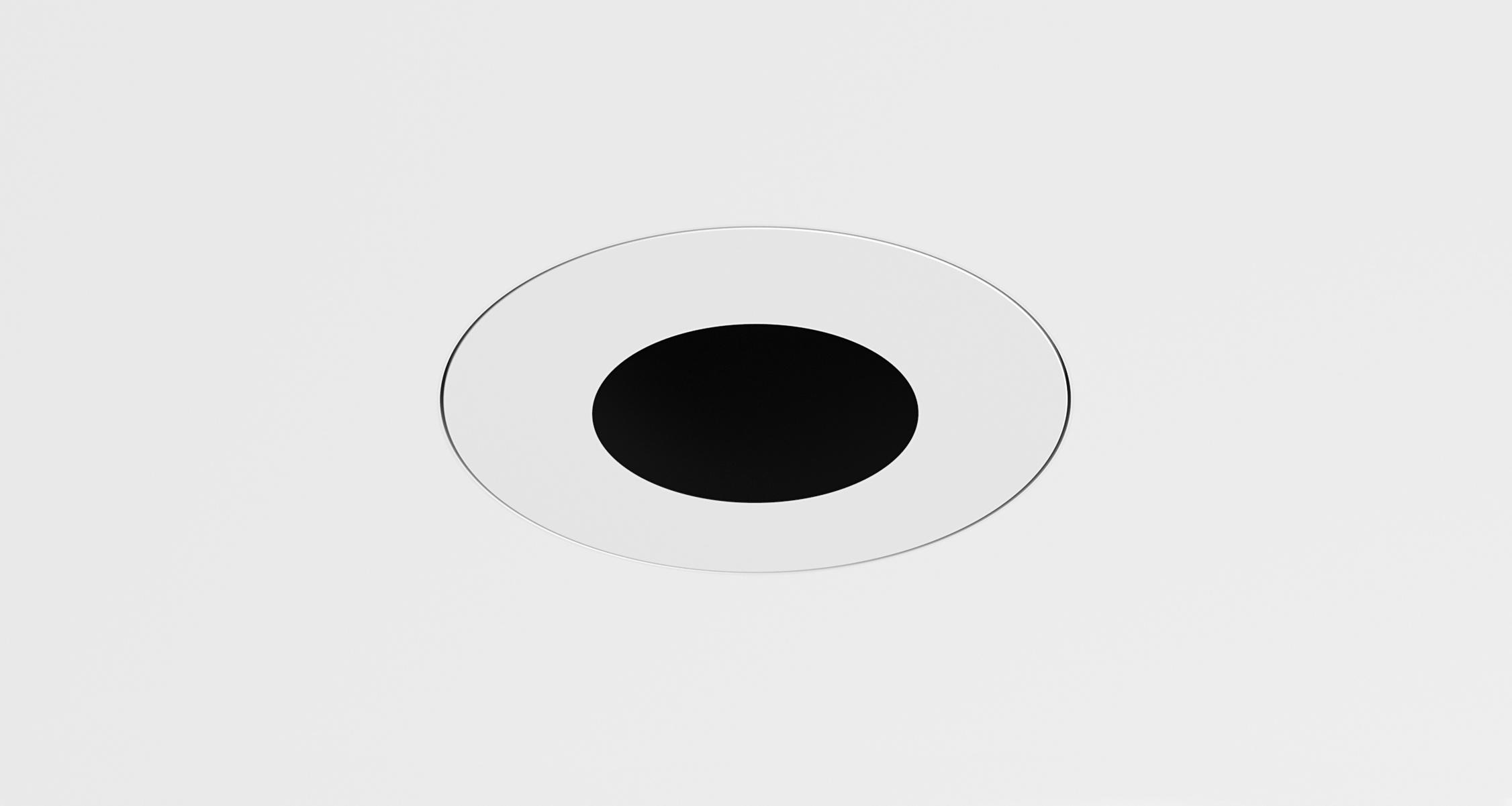 D3 Round Pinhole Deep Regress Downlight Mud-In