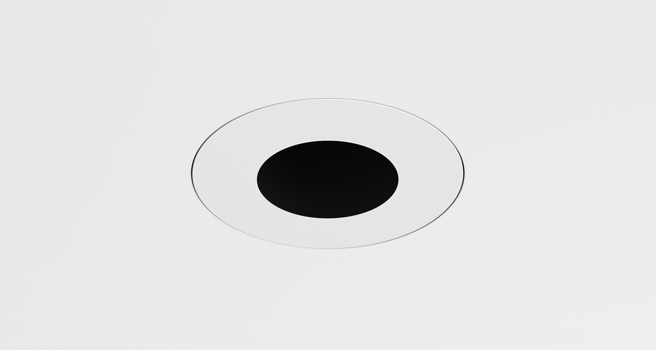 D3 Round Pinhole Deep Regress Downlight Mud-In