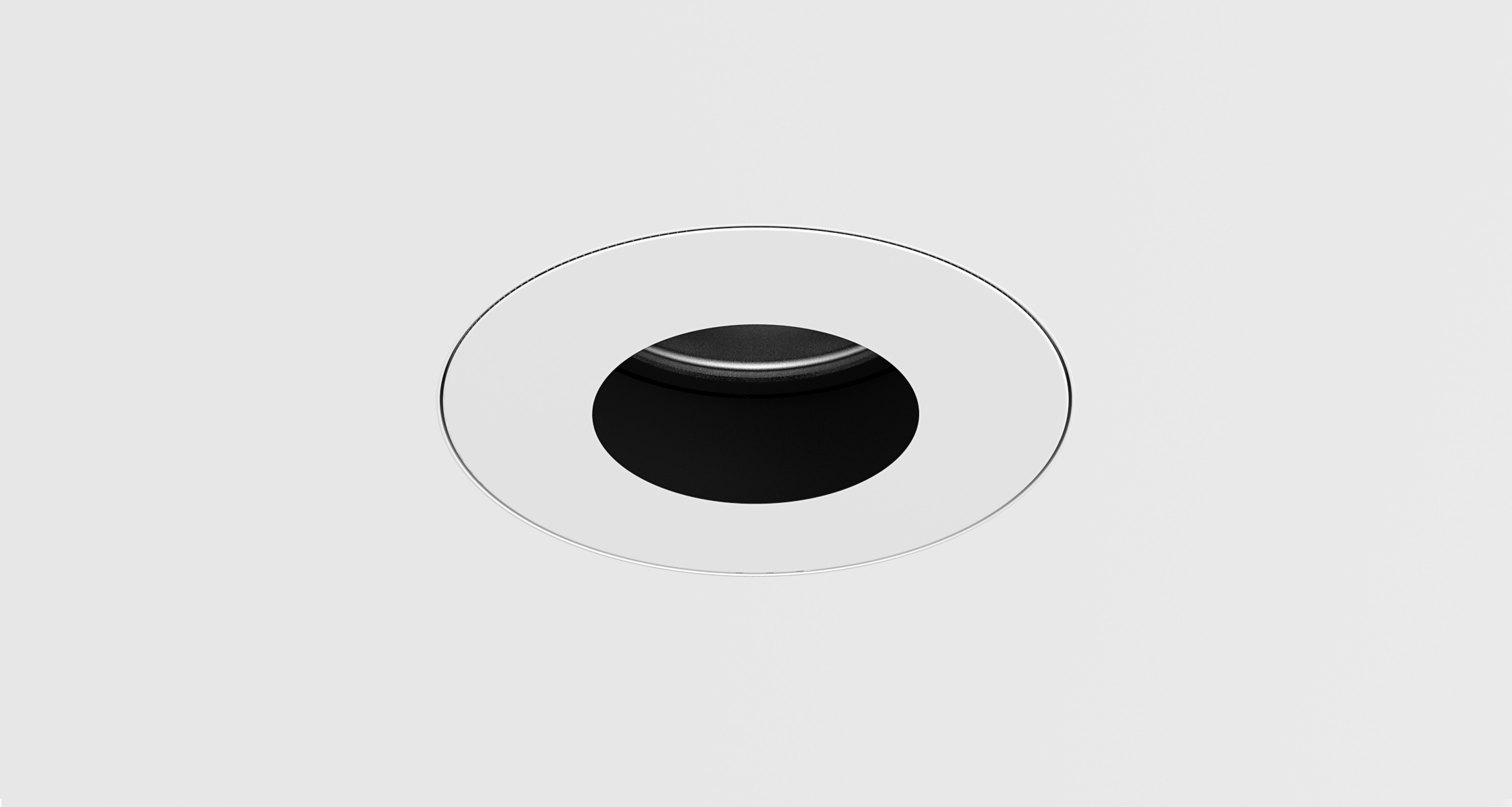 D3 Round Pinhole Shallow Regress Downlight Mud-In