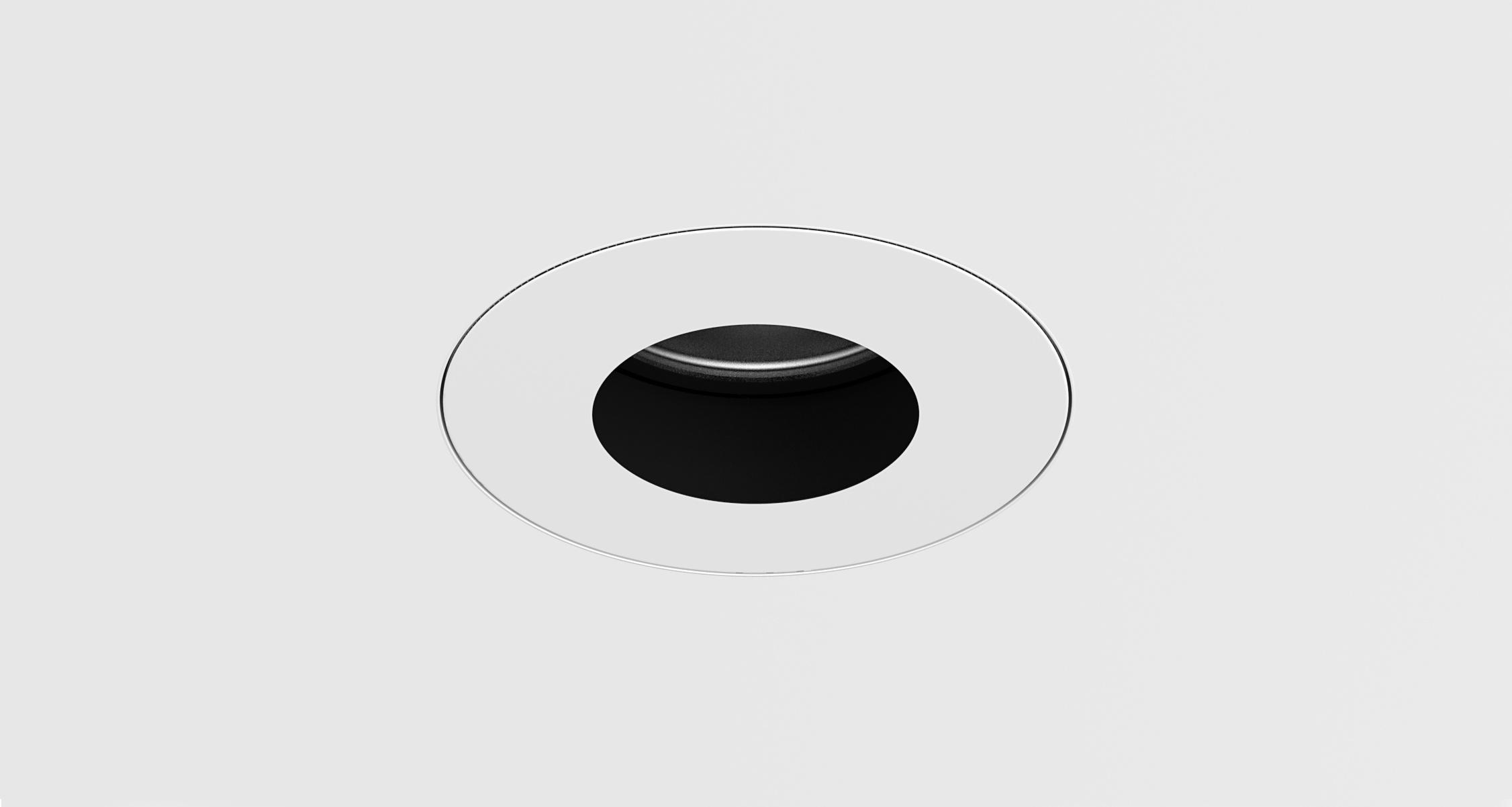 D3 Round Pinhole Shallow Regress Downlight Mud-In