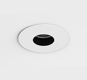 D3 Round Fixed, Flanged Shallow Pinhole
