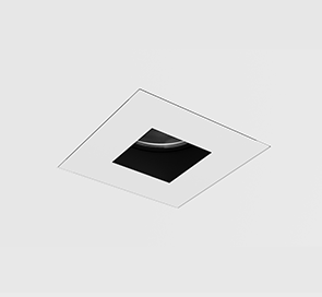 D3 Square Pinhole Shallow Regress Downlight Mud-In