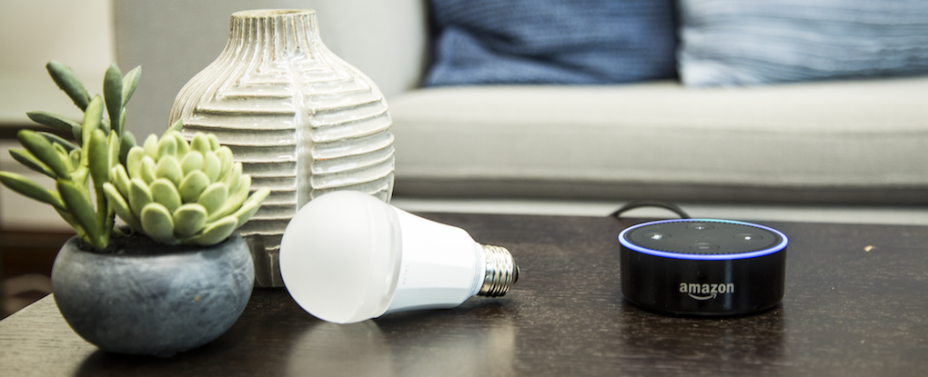 Control your Ketra lights with the sound of your voice
