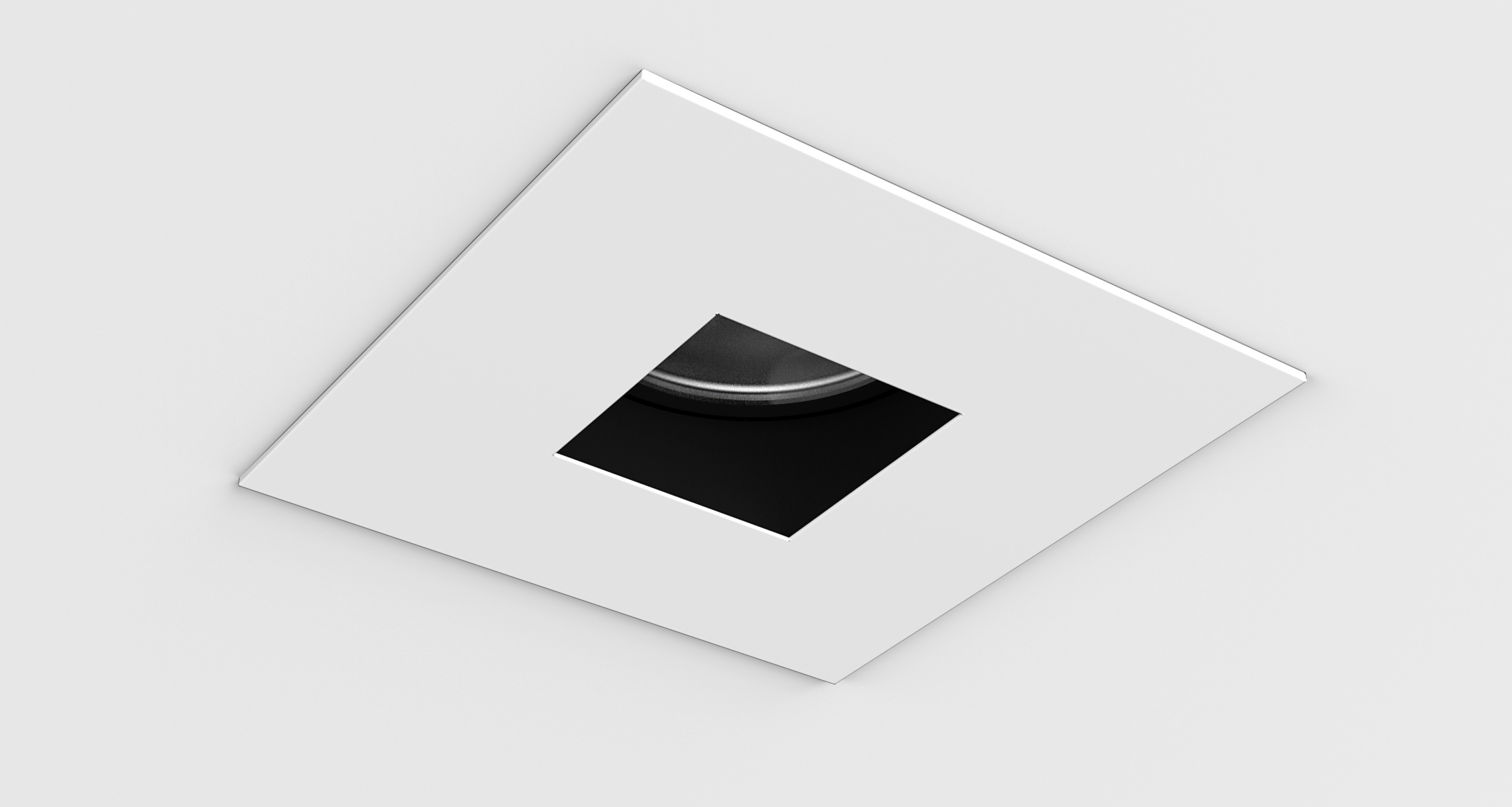 D3 Square Pinhole Shallow Regress Downlight