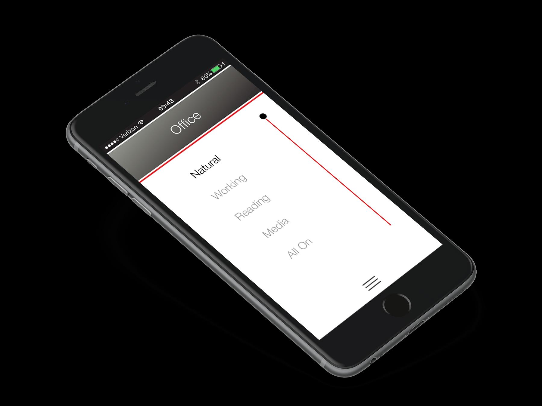Ketra's Mobile App