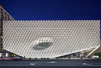 Streetview of the BroadMuseum in LA
